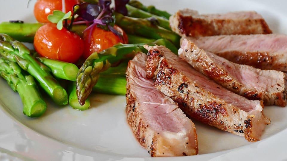 Asperge steak