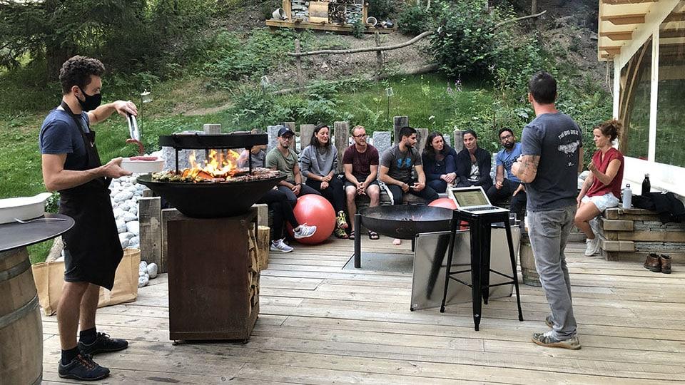 BBQ s-camp sejours corssfit