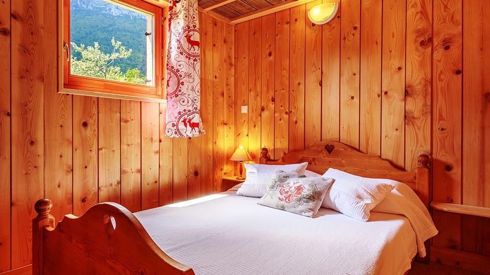 Evasion au Naturel lit double 3 chambres