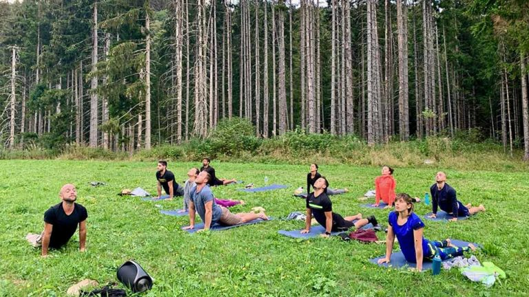 Week-end CrossFit en ChartreuseCross Tipi_yoga chaturangadandasana