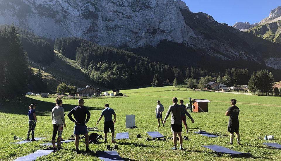 S-Camp Séjour CrossFit WOD en exterieur