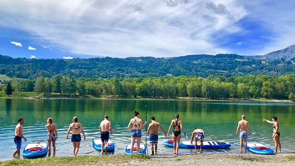 Stage de CrossFit en Ardèche_paddle