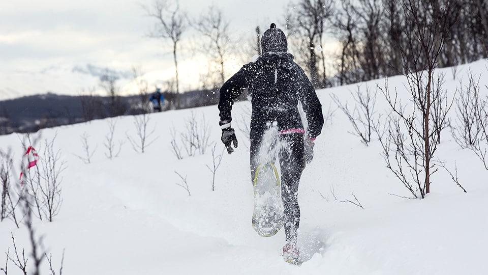 Sejour CrossFit en Chartreuse raquettes dans la neige