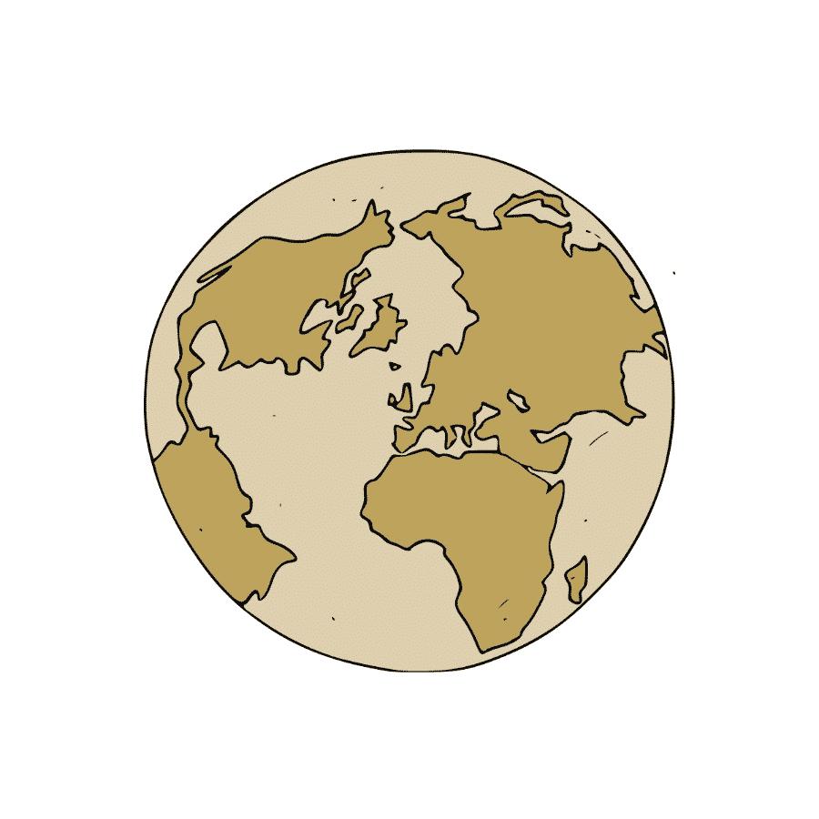 Planète reste du monde