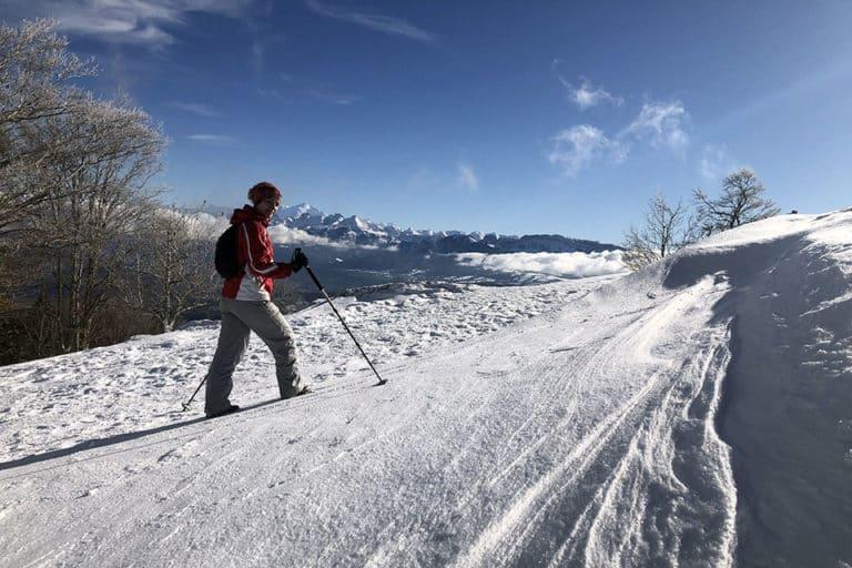 Séjours sportifs-Alice trekking dans la neige