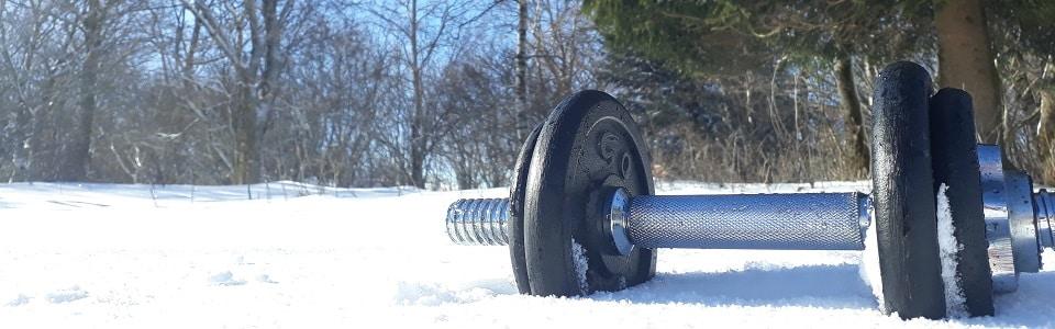 Séjours sportifs-haltère neige