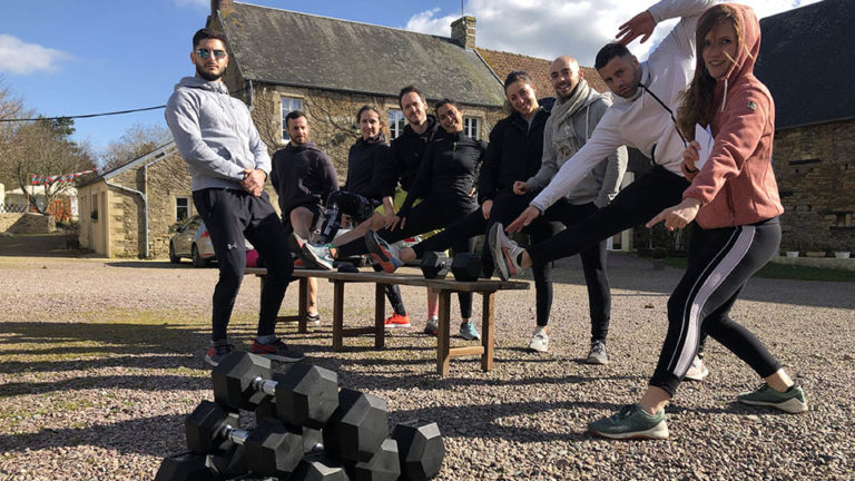 Groupe S-Camp avec Dumbell