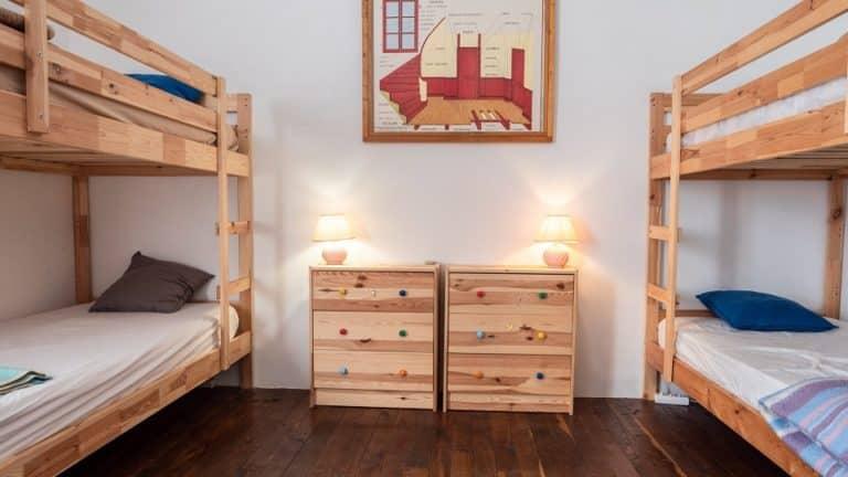 Le Suquet - Chambre bunk beds 960x540
