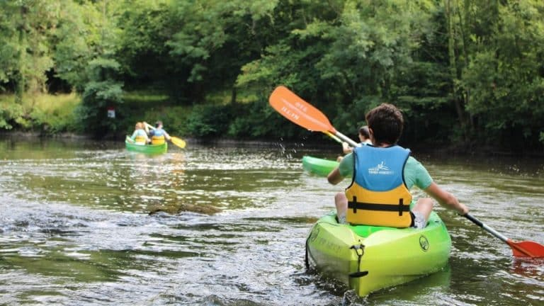 canoe rivière