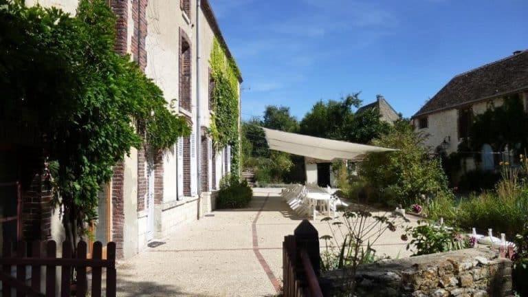 Weekend crossfit dans le Loiret_terrasse_extérieur_soleil
