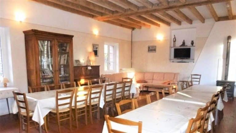 Weekend crossfit dans le Loiret_Moulin de Mousseaux salle à manger