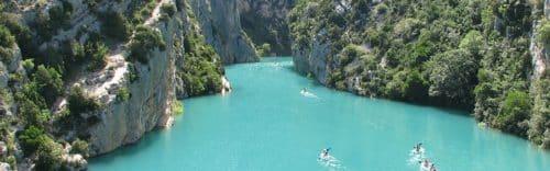 Séjour Cross-Verdon-vacances sportives-Gorges du verdon-provence-kayak