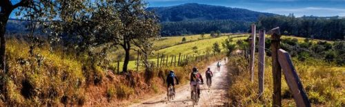 Séjour cross-training-groupe de cycliste en séjour sportif