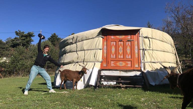 CrossFit chèvre et Yourte Mongole