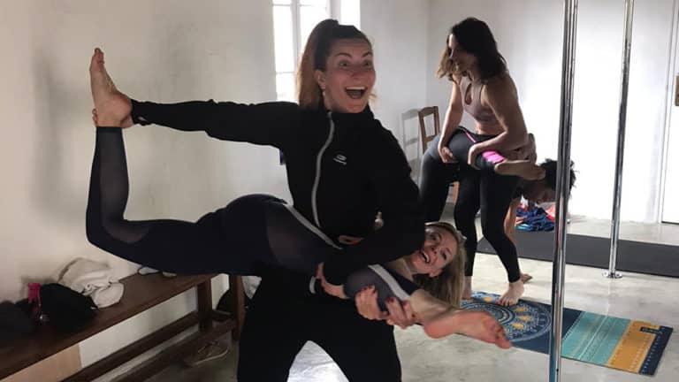 S-Camp_Pole Dance_Loiret_rire_figure à 2_chelou