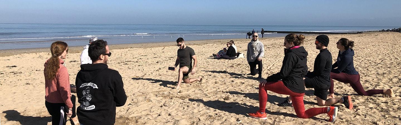 Groupe CrossFit plage normandie