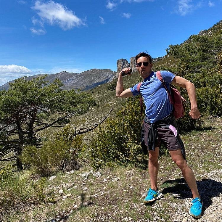 Carlo en trail dans les gorges du Verdon séjour sportif