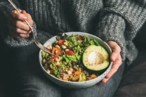 Poke bowl alimentation saine manger healthy