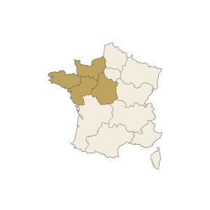 Carte France Nord Ouest